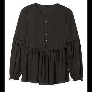 Banana Republic x Olivia Palermo collab blouse XS